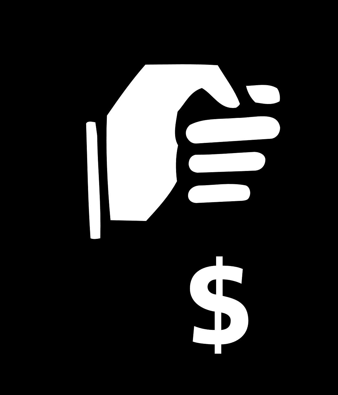 יד מחזיקה כסף